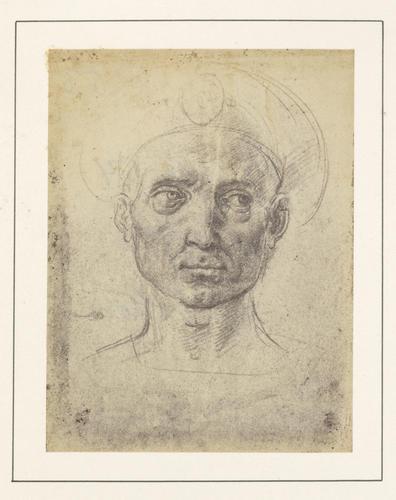Head of a Man wearing a Headgear
