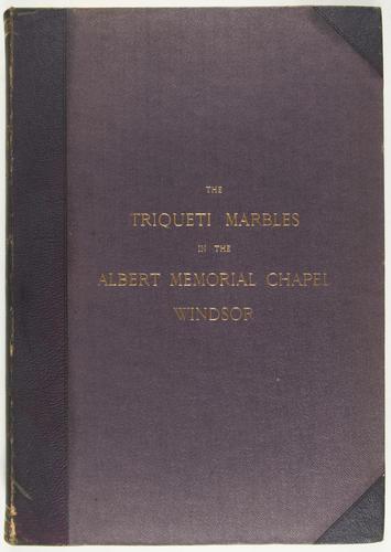 The Triqueti Marbles in the Albert Memorial Chapel, Windsor