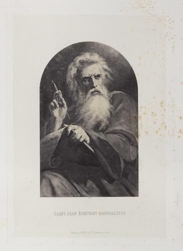 'Saint Jean ecrivant l'Apocalypse'
