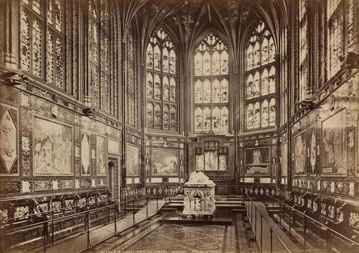 Interior of Albert Memorial Chapel, Windsor Castle
