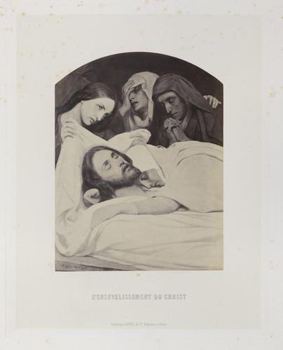 'L'Ensevelissement du Christ'