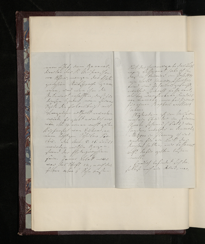 Letter from Gustav Waagen to Dr. Ernst Becker in answer to a request to have paintings by Raphael in Berlin photographed for Prince Albert