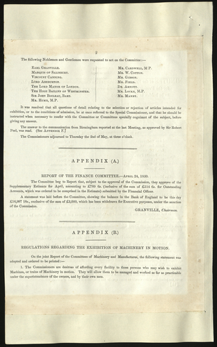 25 Apr 1850. Minutes of the fourteenth meeting of the Royal Commission