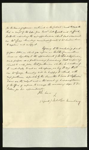 30 May 1850. Messrs Munday to Edgar Bowring