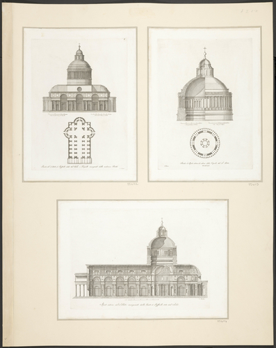 A plan and design of St Peter's Basilica