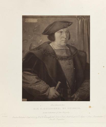 'Sir H. Guildford'; Sir Henry Guildford (1489-1532)