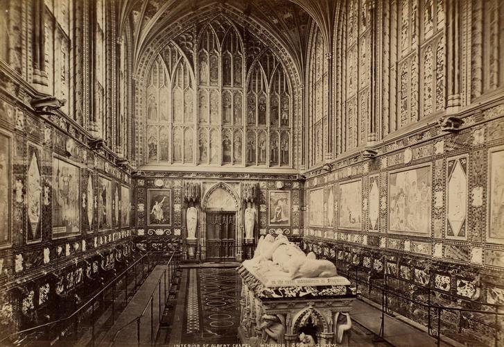 Interior of the Albert Memorial Chapel, Windsor Castle