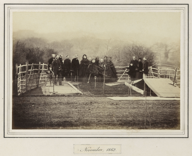 Planting of the Prince Consort's Memorial Tree, Windsor Great Park