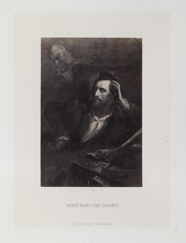 'Faust dans son cabinet'