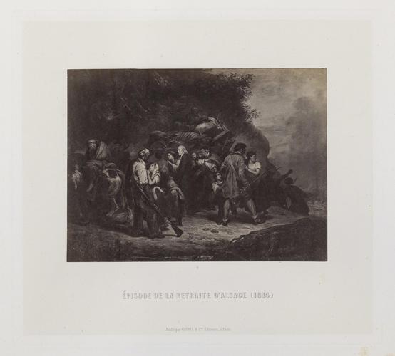 'Episode de la retraite d'Alsace (1814)'