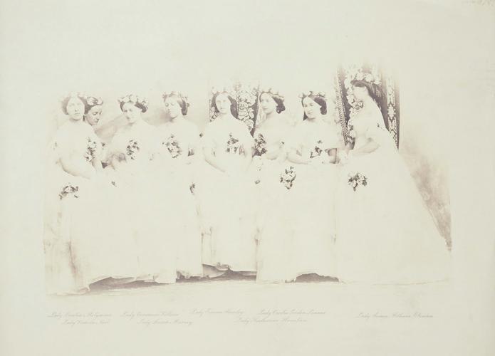 The Princess Royal's bridesmaids