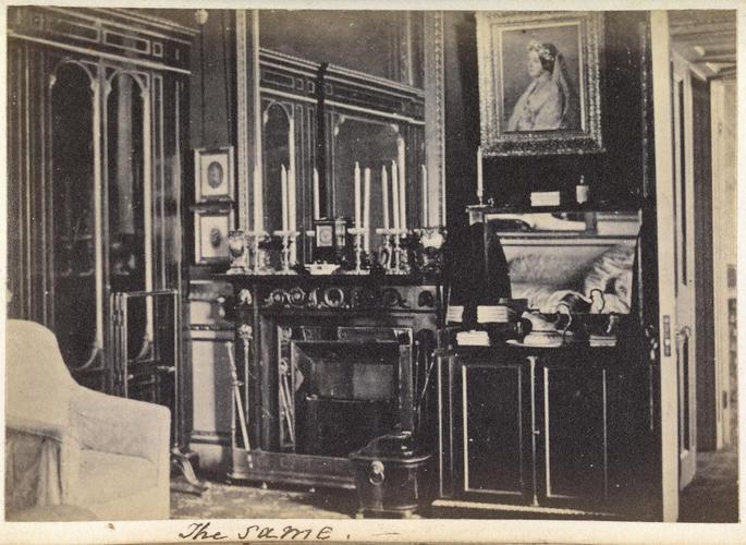 Prince Albert's (1819-61) Dressing room, Windsor Castle