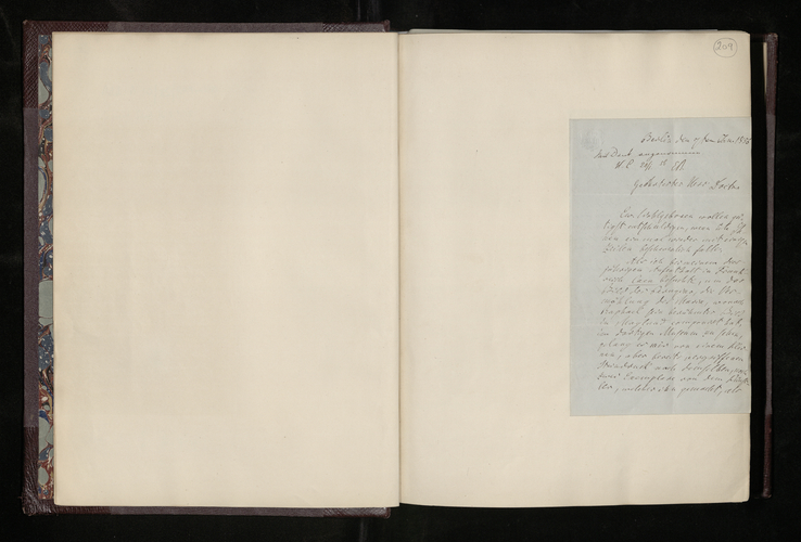 Letter from Dr. Gustav Waagen to Dr Ernst Becker sending a lithograph copy of a picture by Perugino in Caen for the Prince Consort, and informing him of a well-painted copy available for sale there