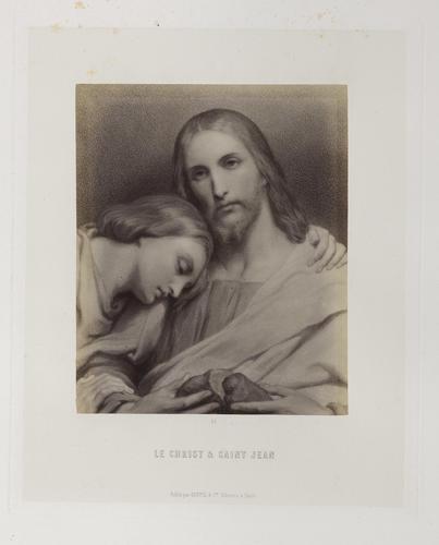 'Le Christ et Saint Jean'