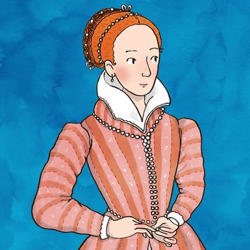 Image of pupils in Mary, Queen of Scots Bedchamber
