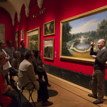 Ddeaf event held at The Queen's Gallery, Buckingham Palace