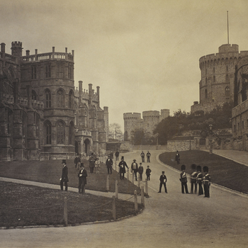 St George's Chapel and the Round Tower, Windsor Castle