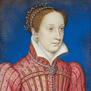 Mary, Queen of Scots, circa 1558